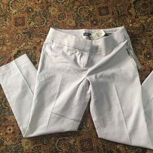NWT Loft ankle pants, Marissa straight fit